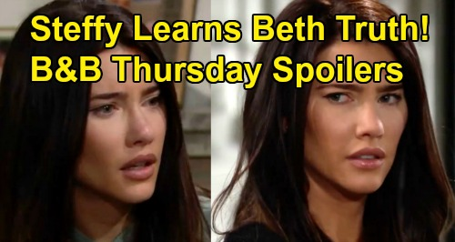 The Bold and the Beautiful Spoilers:Thursday, August 8 - Liam and Hope Drop Beth Bomb On Steffy - Bridge Rush To Support Daughters