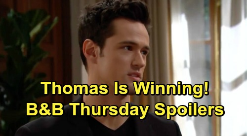 The Bold and the Beautiful Spoilers: Thursday, June 6 - Brooke Begs Hope To Reconsider Annulment - Liam Blasts Thomas