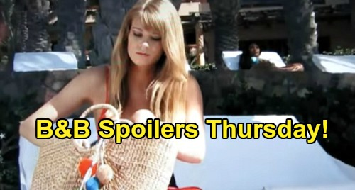 The Bold and the Beautiful Spoilers: Thursday, May 28 - Steffy Keeps Liam Away From Hope - Amber & Beverly Clash Over Rick