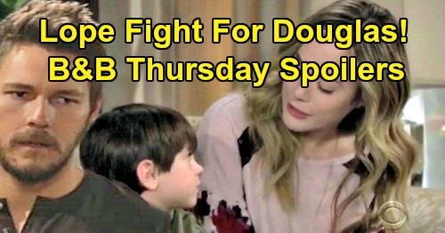 The Bold and the Beautiful Spoilers: Thursday, October 3 - Hope & Liam Fight For Douglas - Thomas Tempts Shauna To Bust Bridge