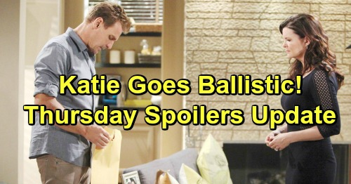The Bold and the Beautiful Spoilers: Thursday, February 14 Update – Baby-Swapping Reese Faces Zoe's Fury – Hope's Catalina Memories