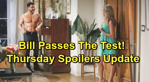The Bold and the Beautiful Spoilers: Thursday, May 16 Update – Bill Stops Shauna's Steamy Strategy, Katie Satisfied – Bright Batie Future