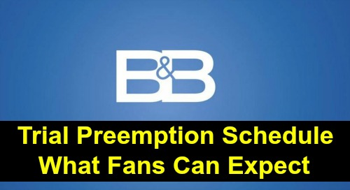 The Bold and the Beautiful Spoilers: Impeachment Trial Preemptions Schedule – What B&B Fans Can Expect
