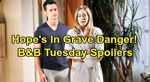 The Bold and the Beautiful Spoilers: Tuesday, July 30 - Hope Tells Hubby She Still Loves Liam - Flo Learns Thomas' Horrible Past