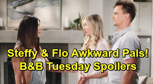 The Bold and the Beautiful Spoilers: Tuesday, June 18 - Thomas Gives Hope Lavish Gift - Party Pushes Steffy and Flo Together