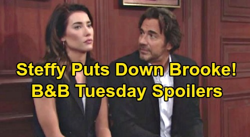 The Bold and the Beautiful Spoilers: Tuesday, November 12 - Hope Confides To Mom She Killed Thomas - Steffy Blasts Brooke to Ridge