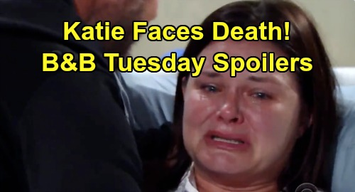 The Bold and the Beautiful Spoilers: Tuesday, October 8 - Shauna Urges Flo To Get Tested - Katie Terrified, Faces Death