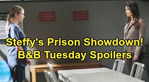 The Bold and the Beautiful Spoilers:Tuesday, September 10 - Ridge Agrees To Let Flo Go Free - Steffy's Prison Fight With Flo
