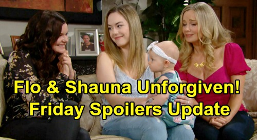 The Bold and the Beautiful Spoilers: Friday, August 16 Update – Hope and Logan Sisters Attack as Flo & Shauna Bring Cabin Chaos