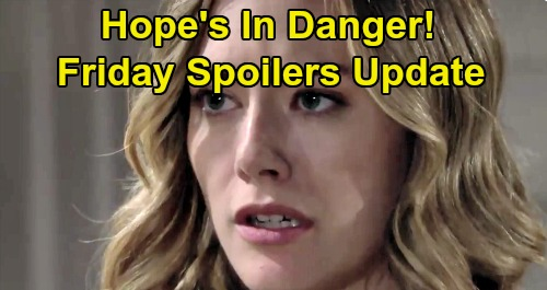 The Bold and the Beautiful Spoilers: Friday, August 2 Update – Hope's in Danger, Liam Rushes to Stop Thomas – Flo Face Wyatt's Fury