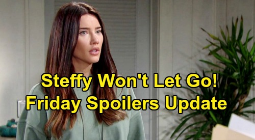 The Bold and the Beautiful Spoilers: Friday, August 9 Update – Steffy Spins Out Over Phoebe Pain, Can't Let Go – Beth Battle Explodes