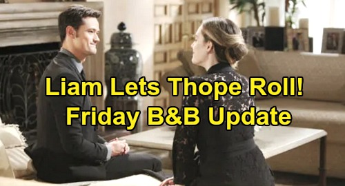 The Bold and the Beautiful Spoilers: Friday, December 20 Update – Hope Gets Liam's Approval – Trusts Zoe's Thomas Takedown