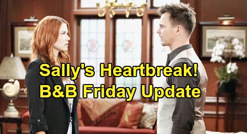The Bold and the Beautiful Spoilers: Friday, January 17 Update – Sally's Heartbreak, Wyatt Rejects Her – Eric Wants Shauna Out