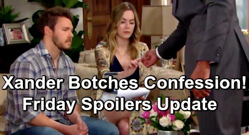 The Bold and the Beautiful Spoilers: Friday, June 7 Update – Beth Confession Botched, Xander Leaves Liam and Hope in the Dark