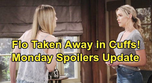 The Bold and the Beautiful Spoilers: Monday, August 19 Update – Hope and Ridge Get Payback - Flo Arrested For Beth Crimes
