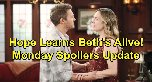 The Bold and the Beautiful Spoilers: Monday, August 5 Update – Hope Thrilled Over Beth, Thomas Bolts After Liam Battle