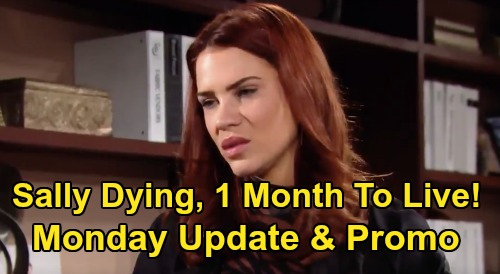 The Bold and the Beautiful Spoilers: Monday, February 10 Update – Dr Escobar Tells Sally She's Dying, Has 1 Month To Live – Flo Quickie Wedding