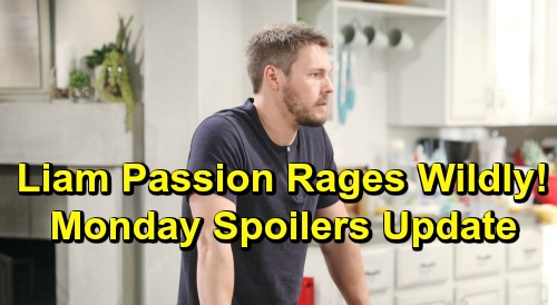 The Bold and the Beautiful Spoilers: Monday, July 1 Update – Liam Sparks Steamy Steffy Passion, Heartbroken Hope Pushed Aside