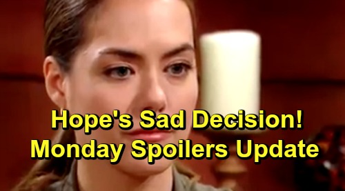The Bold and the Beautiful Spoilers: Monday, July 8 Update – Thomas Wins, Hope Accepts Proposal – Xander's Shocking Find