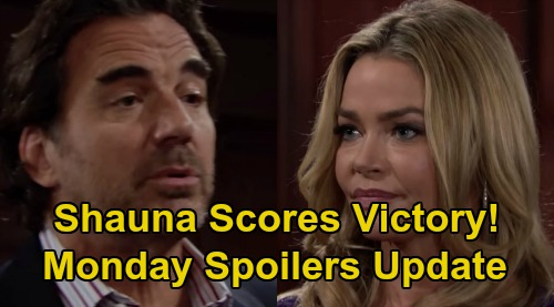 The Bold and the Beautiful Spoilers: Monday, September 30 Update – Shauna Reels Ridge In - Thomas Gets Bombshell for Logan War