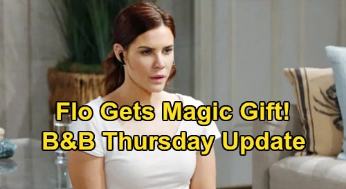 The Bold and the Beautiful Spoilers: Thursday, April 2 Update – Sally Kills Flo with Kindness, Sends Rival a Gift – Penny's in a Panic