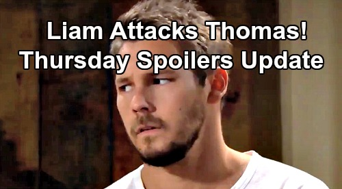 The Bold and the Beautiful Spoilers: Thursday, August 29 Update – Liam Blasts Comatose Thomas, Ridge Fumes – Quinn's Risky Choice
