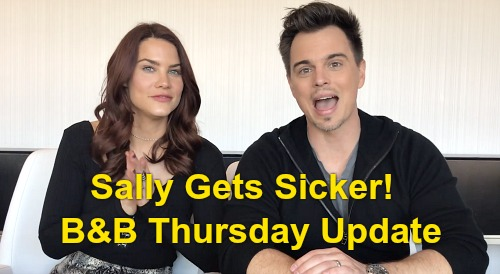 The Bold and the Beautiful Spoilers: Thursday, February 27 Update – Sally's Health Worsens, Wyatt Says Move In - Romance Taking Over