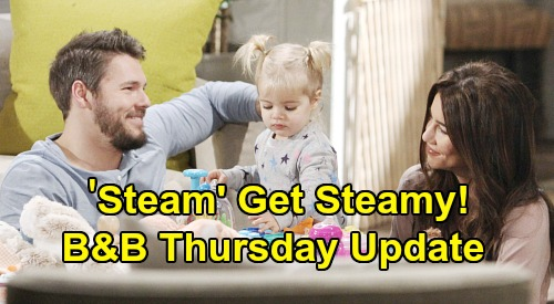 The Bold and the Beautiful Spoilers: Thursday, February 6 Update – Steffy & Liam Get Steamy – Zoe Rejects Carter, Defends Thomas