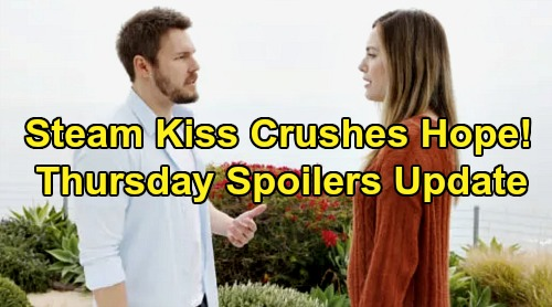 The Bold and the Beautiful Spoilers: Thursday, January 9 Update – Steffy & Liam's Kiss Crushes Hope – Thomas' Twisted Sister Scheme