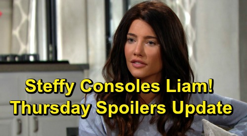 The Bold and the Beautiful Spoilers: Thursday, July 4 Update – Steffy Consoles Liam Over Painful Memories of Losing Beth