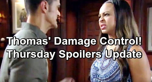 The Bold and the Beautiful Spoilers: Thursday, June 20 Update – Emma Ready to Spill Beth Shocker – Thomas' Deadly Damage Control
