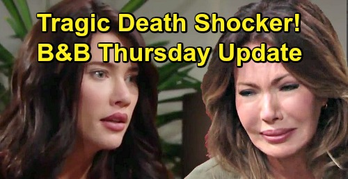 The Bold and the Beautiful Spoilers: Thursday, March 14 Update – Deadly Family News, Taylor & Steffy Stunned – Batie Reunion Blooms