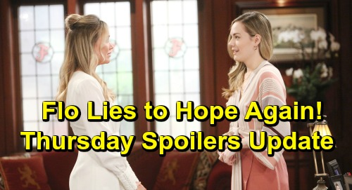 The Bold and the Beautiful Spoilers: Thursday, May 9 Update – Thomas Faces Liam's Wrath Over Hope Scheme – Wyatt Guilt-Trips Flo