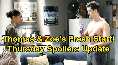 The Bold and the Beautiful Spoilers: Thursday, October 17 Update – Liam's Heartfelt Vow to Steffy – Zoe Intrigues Thomas
