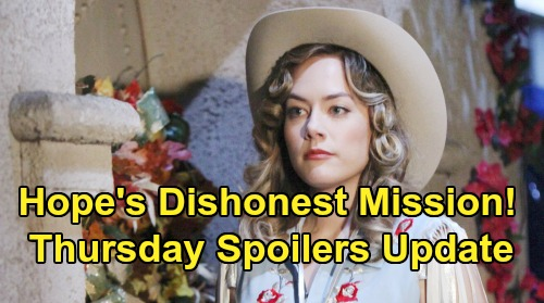 The Bold and the Beautiful Spoilers: Thursday, October 31 Update – Hope's Tricky Halloween Plan – Steffy & Liam's Bond Grows