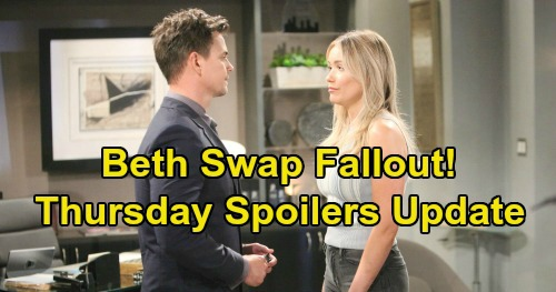 The Bold and the Beautiful Spoilers: Thursday, September 12 Update – Brooke Blowup Leads to Drunk Ridge – Shauna's Infuriating Visit