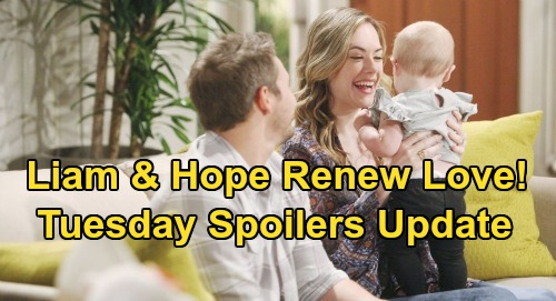 The Bold and the Beautiful Spoilers: Tuesday, August 13 Update – Liam and Hope's Love Renewed Thanks to Beth Bliss - Steffy Mourns