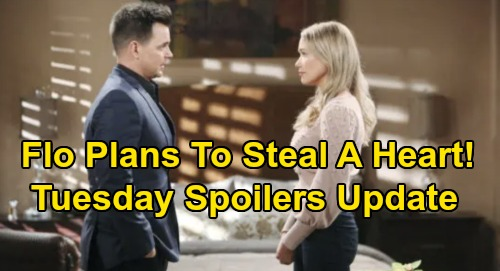 The Bold and the Beautiful Spoilers: Tuesday, January 14 Update – Shauna Pushes Flo to Steal Wyatt's Heart – Steffy Trashes Sally's Work