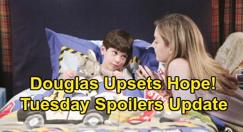 The Bold and the Beautiful Spoilers: Tuesday, July 23 Update – Wyatt Joins Liam's Search for Flo Truth – Douglas' Weird Request