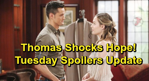 The Bold and the Beautiful Spoilers: Tuesday, June 18 Update – Steffy and Flo Party Disaster – Thomas's Grand Gesture Shocks Hope