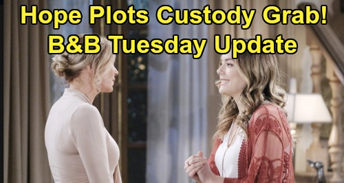 The Bold and the Beautiful Spoilers: Tuesday, October 29 Update – Hope's Sneaky Plan To Steal Douglas – Ridge & Shauna Next Step
