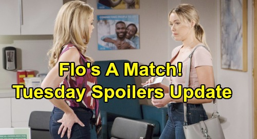 The Bold and the Beautiful Spoilers: Tuesday, October 8 Update – Katie's Heartbreaking Confession, Death Draws Near – Flo's a Match