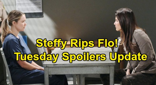 The Bold and the Beautiful Spoilers: Tuesday, September 10 Update – Steffy Rips Flo to Shreds – Ridge's Choice Grants Flo Freedom