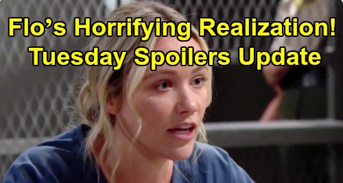 The Bold and the Beautiful Spoilers: Tuesday, September 3 Update – Flo's Horrifying Realization – Ridge and Brooke Collapsing Fast