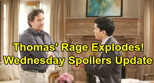 The Bold and the Beautiful Spoilers: Wednesday, August 21 Update – Thomas Sneak Attack Fears – Hope's Annulment Bomb Brings Rage
