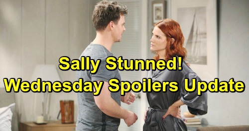 The Bold and the Beautiful Spoilers: Wednesday, February 20 Update – Sally Stunned by Wyatt's Plan – Justin and Donna Matchmake