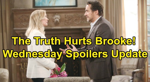 The Bold and the Beautiful Spoilers: Wednesday, January 15 Update – Brooke Attacks Shauna, Quinn Explodes – Katie's Surprising Request
