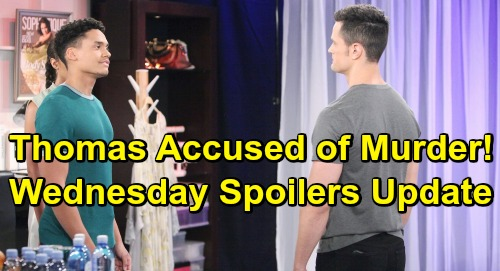 The Bold and the Beautiful Spoilers: Wednesday, July 10 Update – Thomas and Xander Murder Face Off - Liam Insists Hope's His True Love