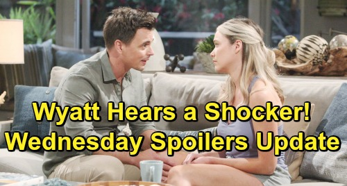 The Bold and the Beautiful Spoilers: Wednesday, July 24 Update – Wyatt Stunned by Flo's Big Slipup – Heartbroken Hope Aches for Beth