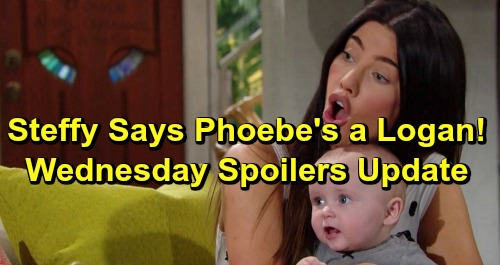 The Bold and the Beautiful Spoilers: Wednesday, June 19 Update – Steffy Insists Phoebe Is a Logan - Thomas Shuts Up Xander
